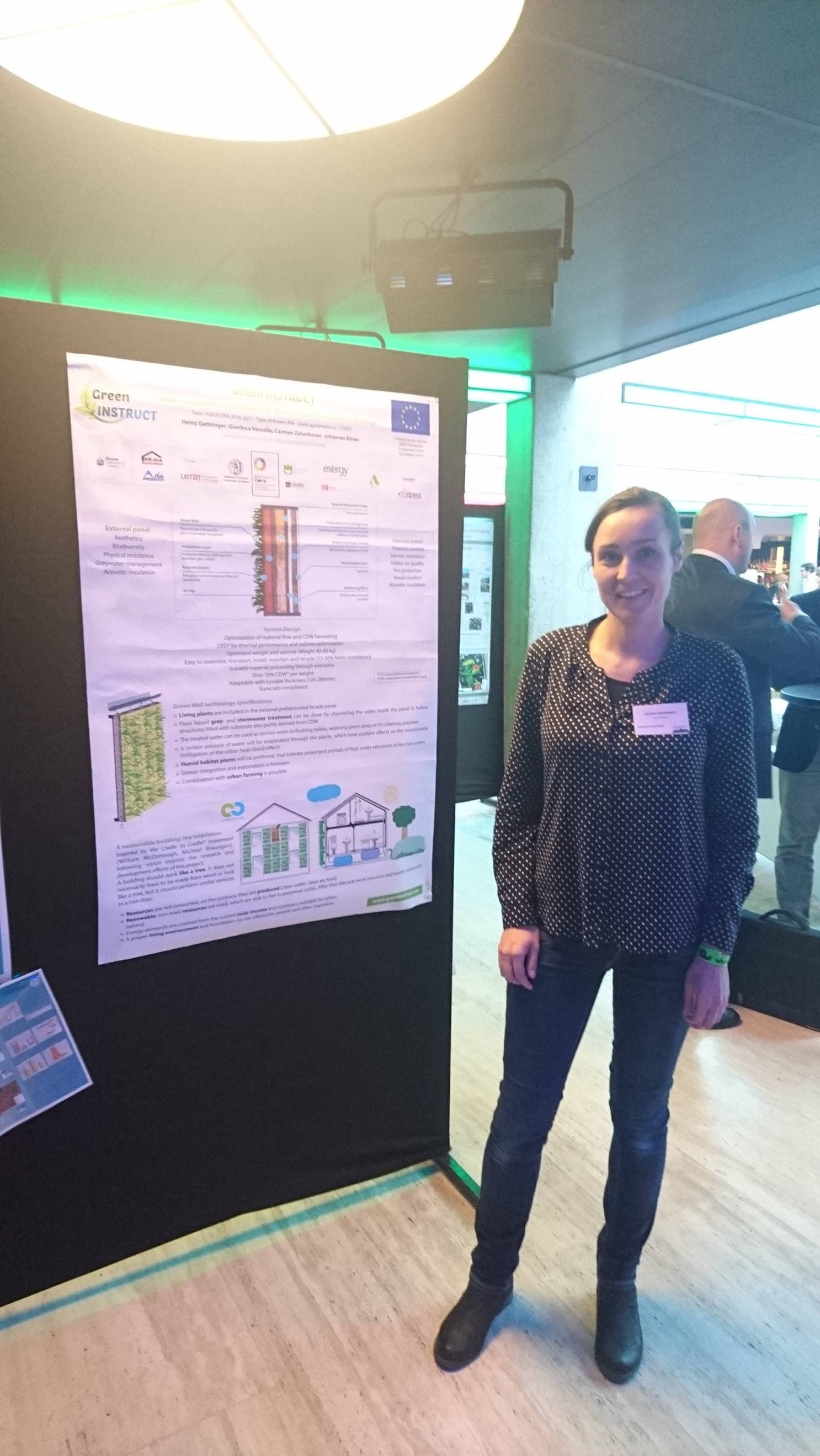 Green INSTRUCT presented at the European Urban Green Infrastructure